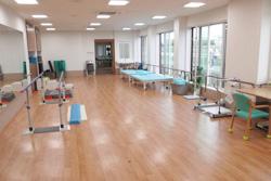 広い機能訓練室